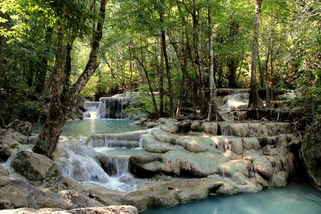 eravan: Waterfall Eravan in Thailand