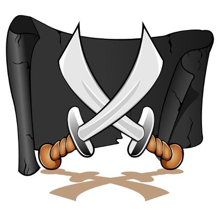 swashbuckler: crossed swords