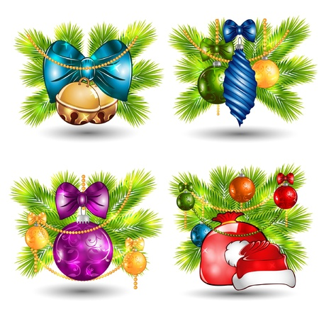 new year cgristmas icon Stock Vector - 18181179