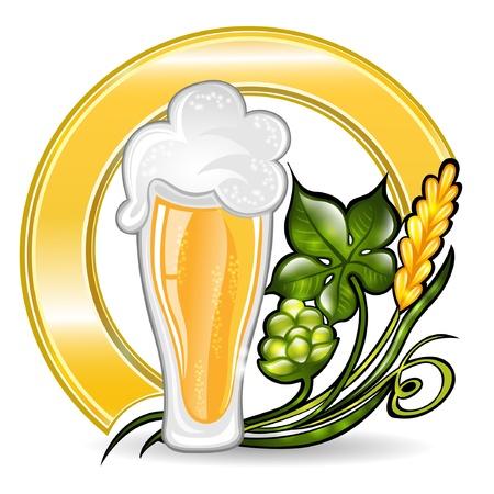 glass berr icon Stock Vector - 18181195