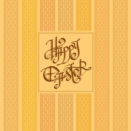old easter vintage background Illustration