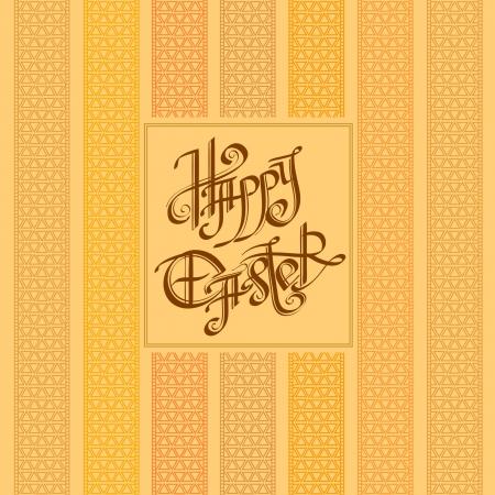 old easter vintage background Stock Vector - 18354496