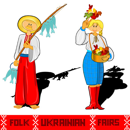 fairs: fisher ukrainian folk fairs and girl candy sale