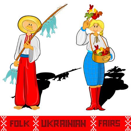 fairs: fisher ukrainian folk fairs and girl candy sale