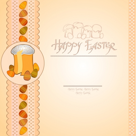 easter cake egg background