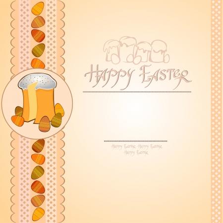 easter cake egg background