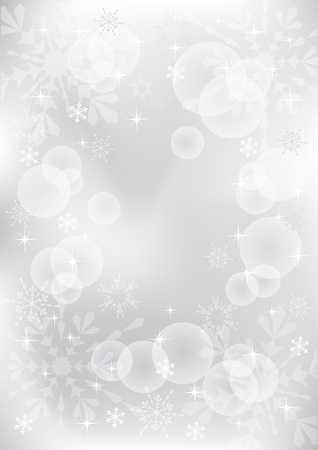 Winter background. Vector  illustration. EPS10. Vector