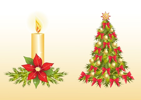 Christmas design element. Vector illustration. Vector