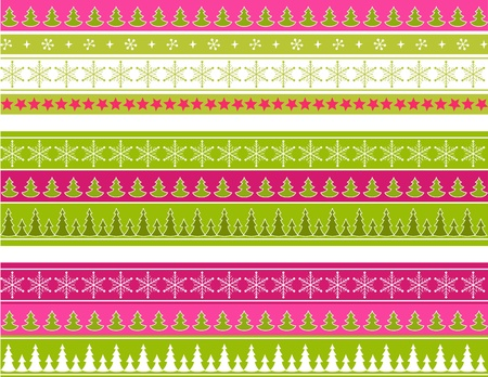 scrapbook element: Christmas ornament for scrapbook. Vector illustration.