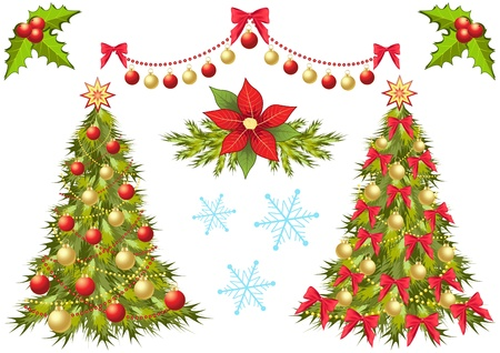 Christmas collection. Design element. Vector. Vector
