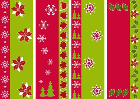 Christmas ornament for scrapbook. Vector illustration. Vector