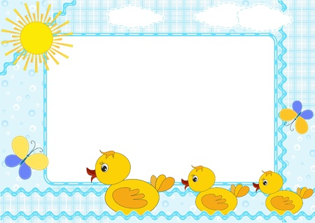 baby duck: Children