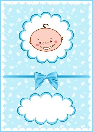 Cheerful babies card. Vector illustration. Stock Vector - 11647782