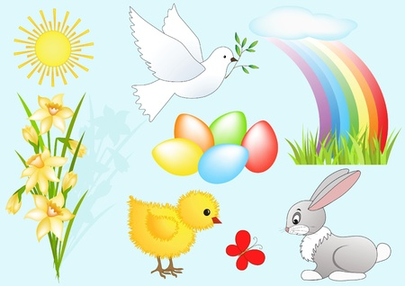 Easter design element. Vector illustration. Vector