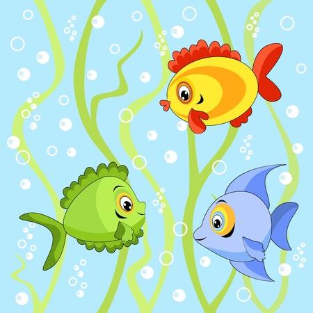 undersea: Sin fisuras con los peces.