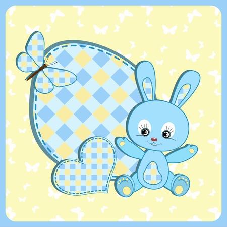 stria: Baby arrival card.
