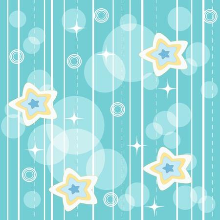 Blue vivid pattern.  Vector