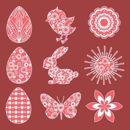 gaily: Easter design element  Illustration