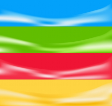 summary: Abstract background  Four banners