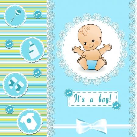 grzechotka: Karta Baby Shower