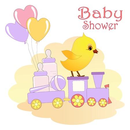 Baby Shower-Karte