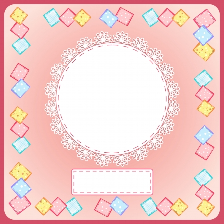 Baby Shower card Stock Vector - 14155900