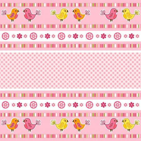 stria: Set pink ribbon