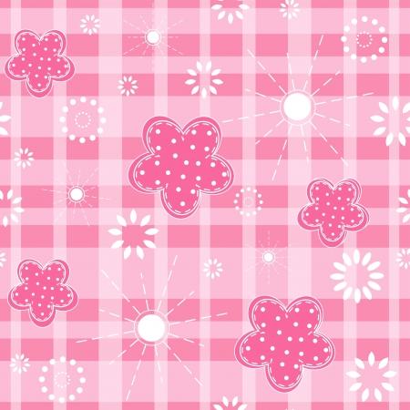 stria: Baby pink seamless