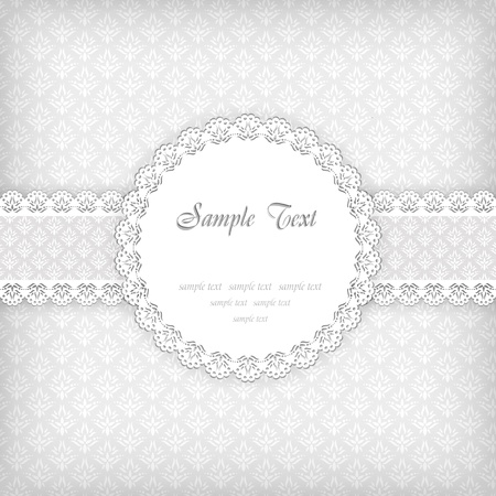 Background with frame Stock Vector - 16813841
