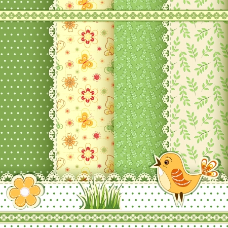 scrapbooking: Collection for scrapbook  Patterns