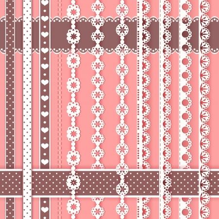 スクラップ ブック ベクトル イラスト コレクション デザイン要素