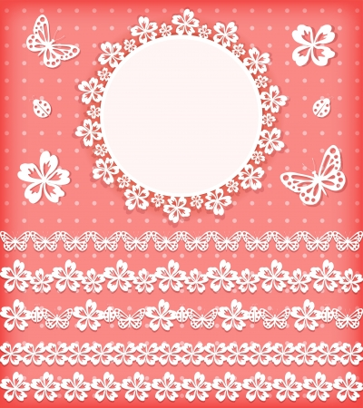 Collection design elements for scrapbook  Vector illustration Stock Vector - 18253909
