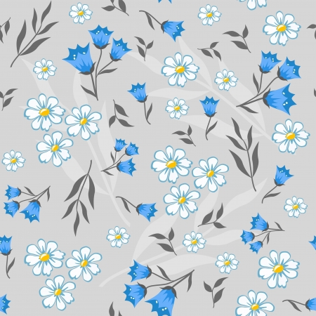 Floral background for scrapbook  Vector  Vector