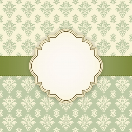 invitations: Greeting card with place for your text  Vector illustration