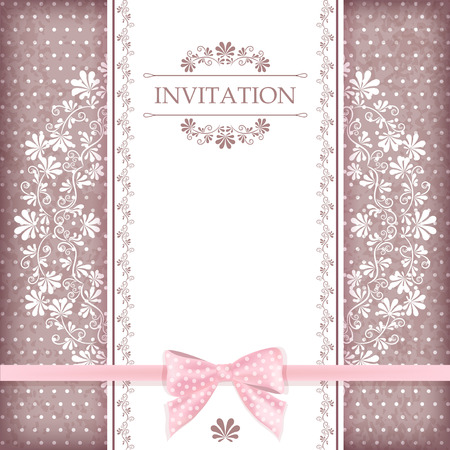 Greeting card with place for your text  Vector  일러스트