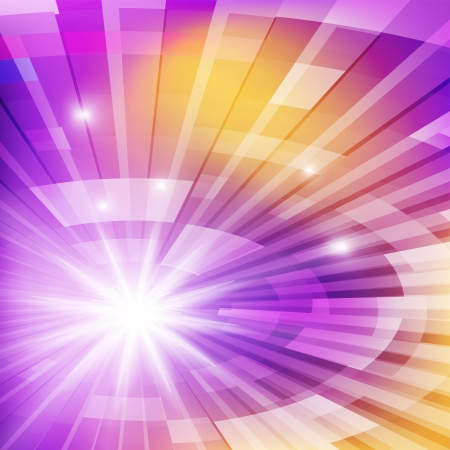 concentric circles: Colourful abstract background  Vector illustration
