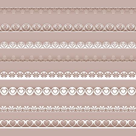 Collection design elements for scrapbook  Vector illustration  Vector