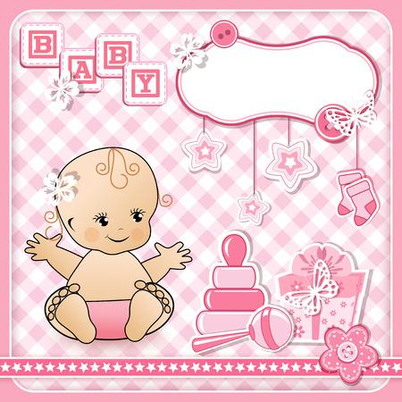Set baby design elements. Vector illustraton. Vector
