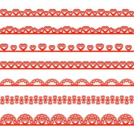 paper punch: Collection design elements for scrapbook. Vector illustration.