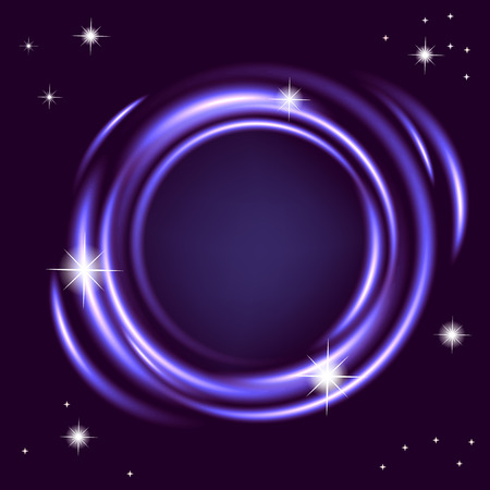 night background: Abstract night background. Vector illustration.
