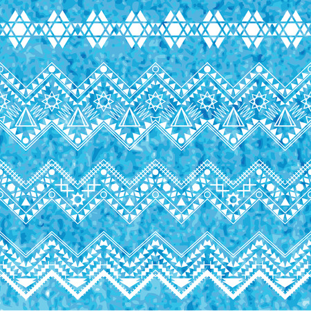 traditional pattern: Collection tribal borders. Vector illustration. Illustration