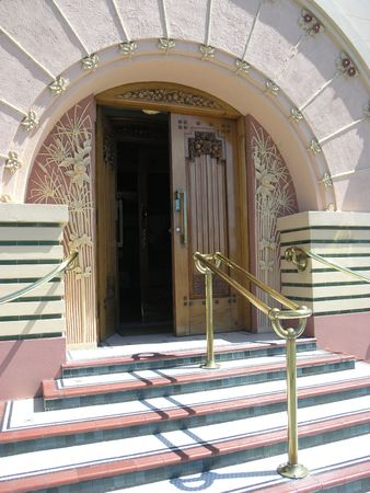 Art Deco Entrance        photo