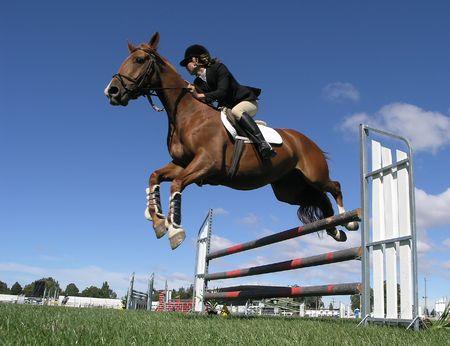 caballo saltando: Aerotransportado