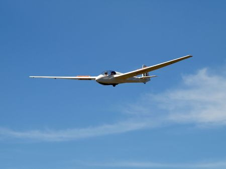A Glider coming in to land