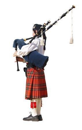 strathspey: The Piper