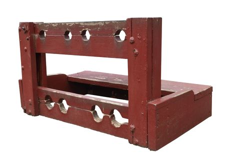 corporal: Old Colonial Stocks isolated