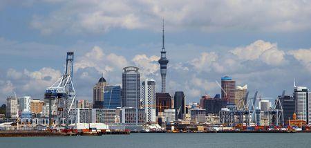 Cityscape of Auckland New Zealand        photo