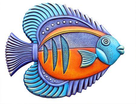 ornamental fish: Colorful pesci ornamentali Archivio Fotografico