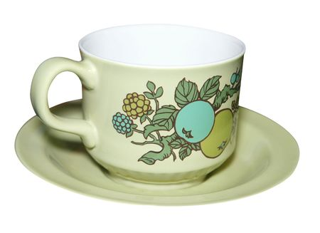 Cup and Saucer isolated Stock Photo - 4639447