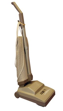 upright: Upright Vacuum Cleaner isolated  Stock Photo